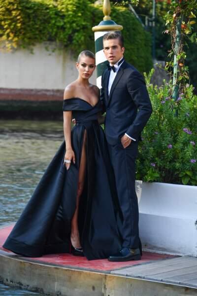 Jessica Goicoechea et son compagnon River Viiperi ne sont pas passés inaperçus à la Mostra de Venise
