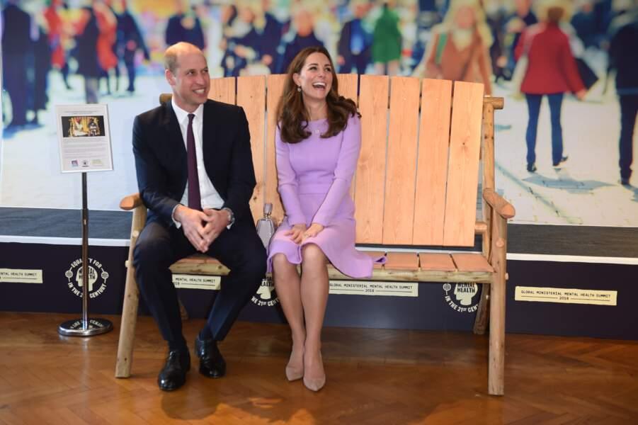 Le prince William et Catherine Kate Middleton plus complices et heureux que jamais