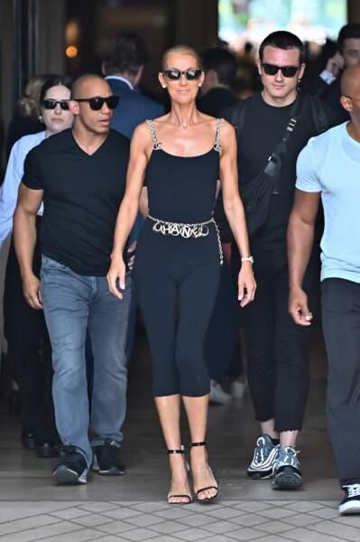 Ex-danseur de Céline Dion, Pepe Munoz a été promu styliste de la star, il y a quelques mois