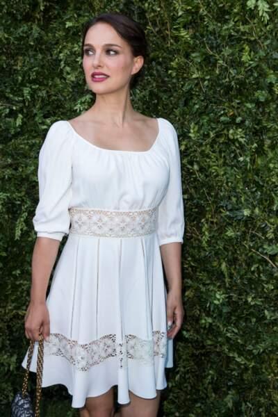Natalie Portman, 5 mois après la naissance de sa fille.