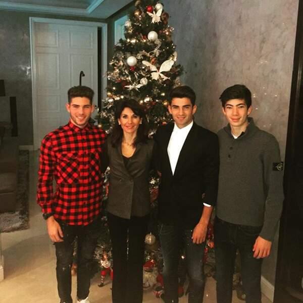 La famille de Zidane
