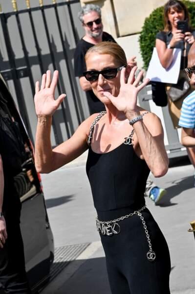 Ce 27 juin, Céline Dion affichait une cambrure irréprochable