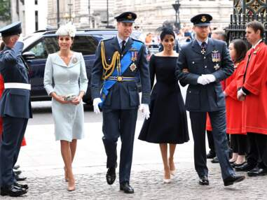 PHOTOS - Meghan, Harry, Kate, William, la reine au centenaire de la Royal Air Force