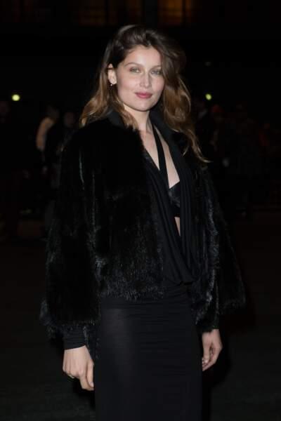 Laetitia Casta en mars 2014 au défilé Givenchy
