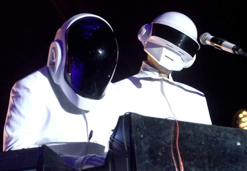 Plus de 20 ans d'existence pour les Daft Punk et on ne connaît toujours pas leurs visages