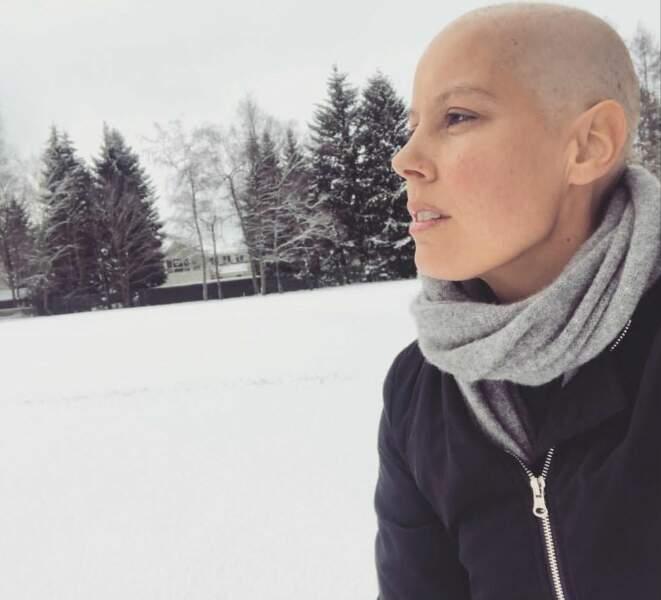 Malgré son cancer, Fanny Leeb a continué sa carrière de chanteuse