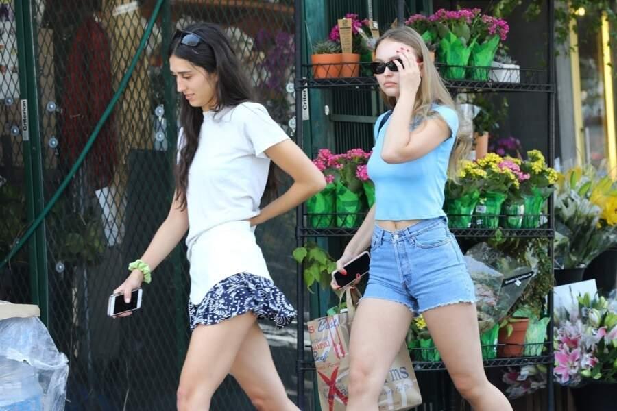 Lily-Rose Depp le 12 août dernier