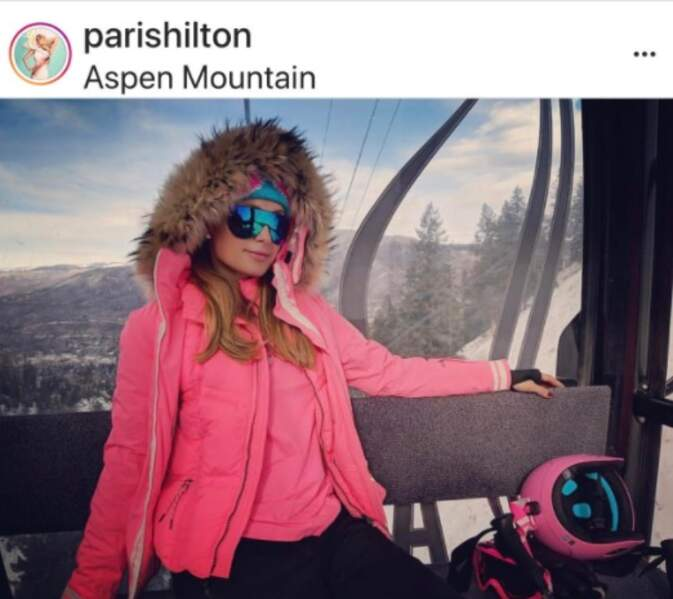 Paris Hilton à Aspen