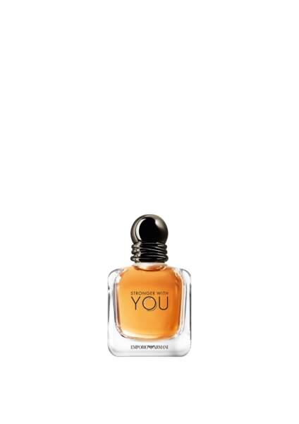 Eau de parfum Stronger with you, Emporio Armani, 61 €