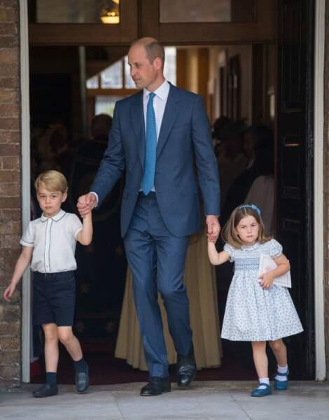 Le Prince William très souvent habillé de dégradé de bleu