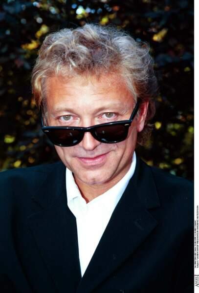 Laurent Boyer, lors de la conférence de rentrée d'M6 en 1999