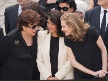 Rachida Dati retrouve NKM aux obsèques de Simone Veil