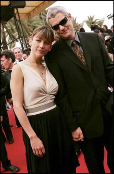 Sophie Marceau au côté de Jim Lemley lors du 58ème festival de Cannes, en 2005.