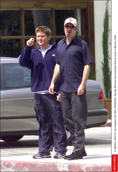 2001: George et Kenny, à Beverly Hills, où le chanteur fut arrêté pour racolage 3 ans plus tôt.