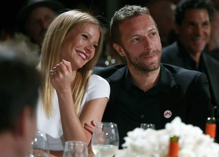 Gwyneth Paltrow et Chris Martin à Beverly Hills en 2016