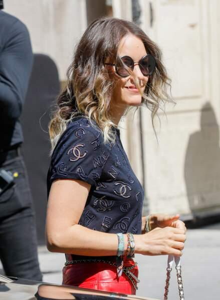 Look bohème chic pour Marion Cotillard chez Chanel