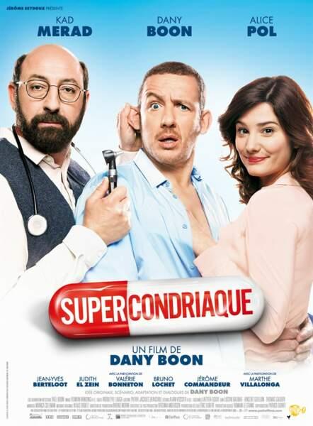 En 2014, Dany Boon retrouve Kad Merad pour Supercondriaque