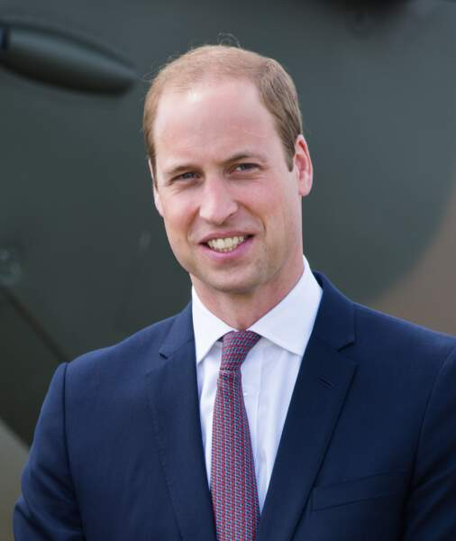 Le prince William se dégarnit lentement
