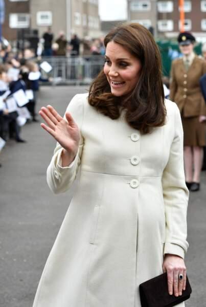 Pour cette troisième grossesse, Kate Middleton recycle beaucoup de ses grossesses précédantes