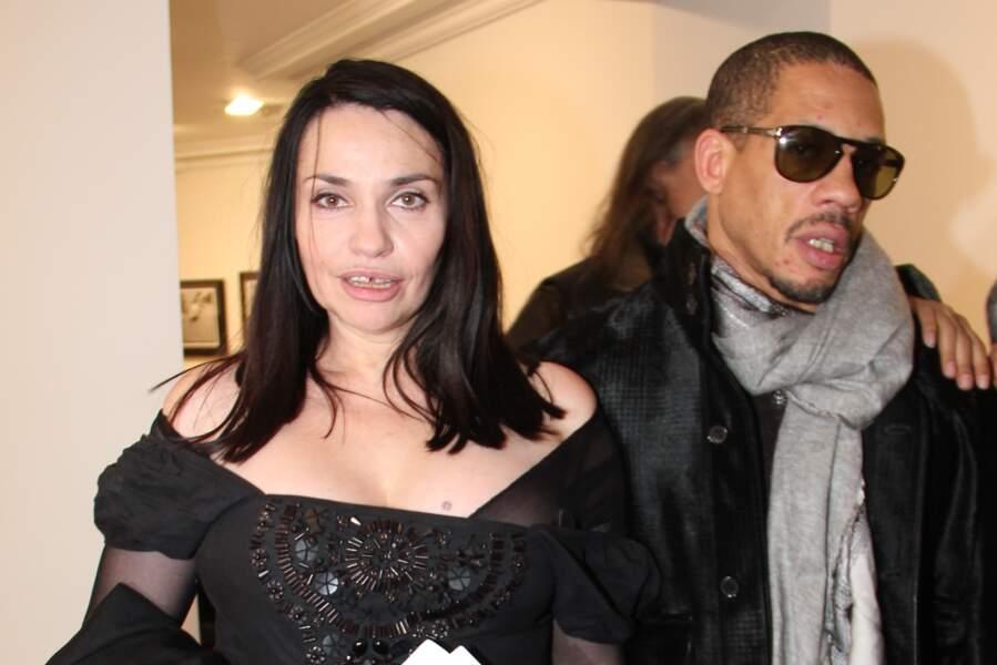 Béatrice Dalle et Joey Starr à Paris en 2014