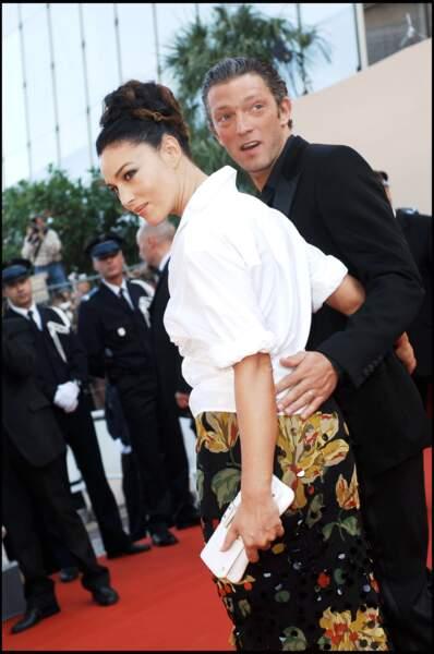 Monica Bellucci et Vincent Cassel au festival de Cannes en 2006