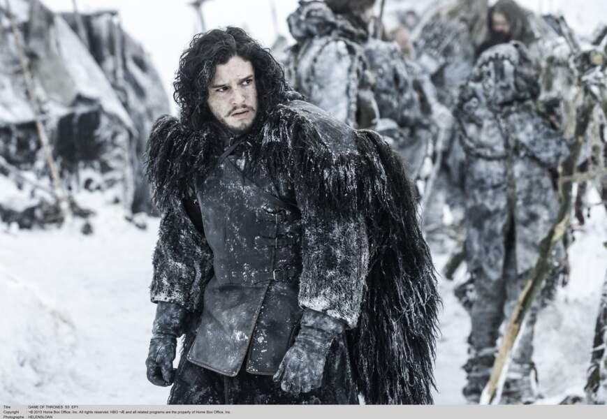"""Kit Harington, le célèbre Jon Snow de la série """"Game of Thrones"""""""