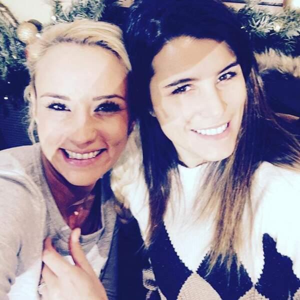 Elodie Gossuin et Karine Ferri