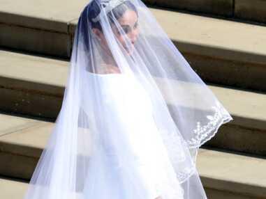 Photos - Mariage royal : La robe de Meghan Markle a créé la surprise