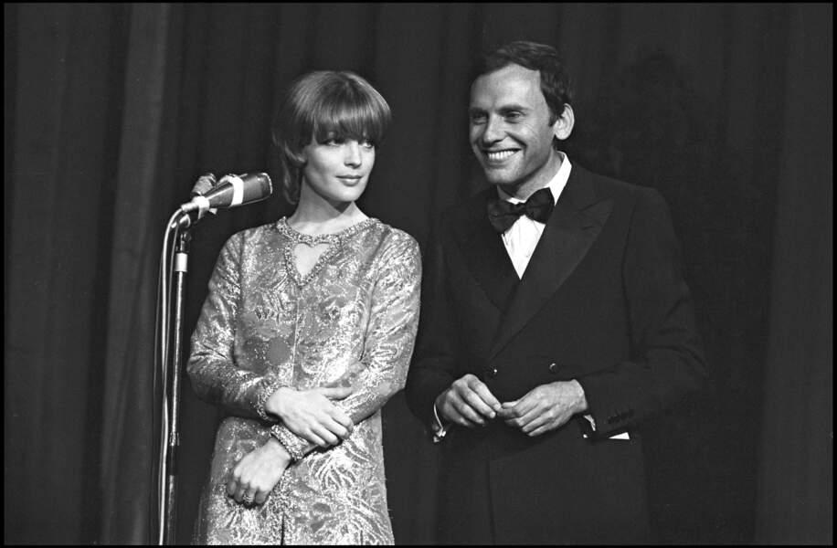 Romy Schneider et Jean Louis Trintignant au Festival de Cannes en 1971