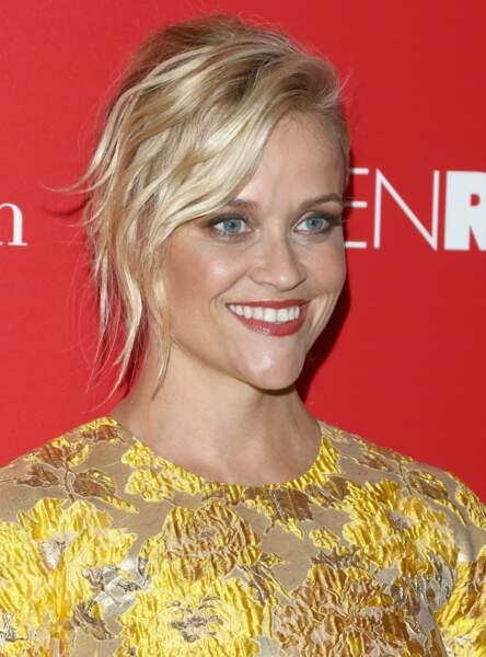la mèche wavy de Reese Witherspoon