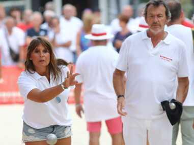 PHOTOS - Jean-Luc Reichmann et sa femme Nathalie profitent à Saint-Tropez avant la fin des vacances