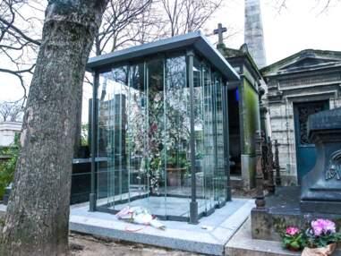 Photos - France Gall rejoindra Michel Berger et leur fille Pauline au cimetière de Montmartre