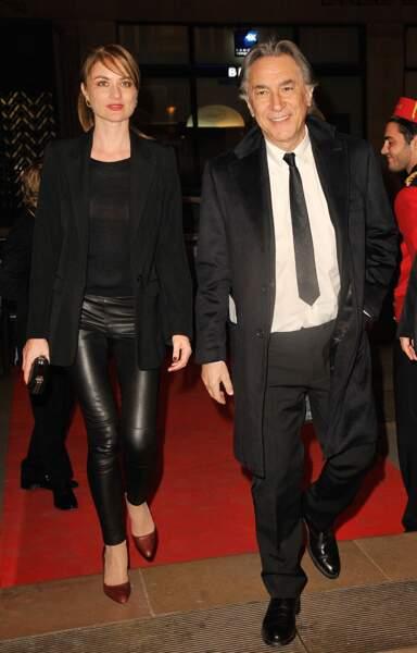 Pascale Louange et Richard Berry au gala Enfance Majuscule en 2014