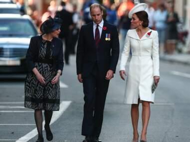 Kate Middleton en blanc à Ypres