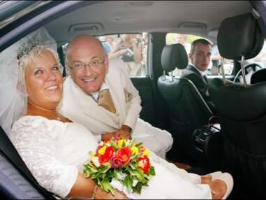 PHOTOS - Mariage de Mimie Mathy et Benoist Gérard à Neuilly sur Seine en 2005
