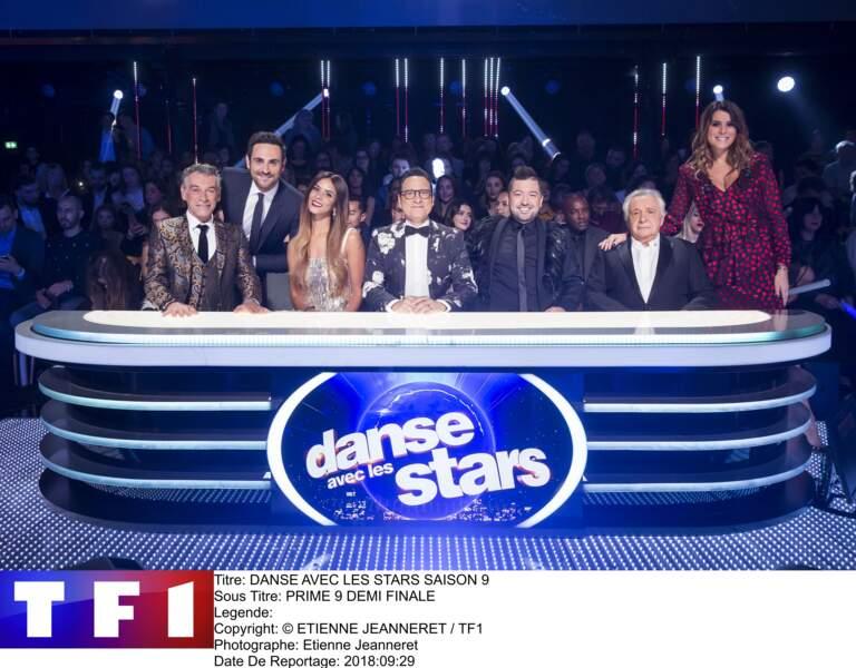 Shy'm sur le plateau du 9e prime de Danse avec les Stars, diffusé le 24 novembre 2018 sur TF1