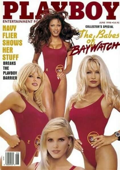 En 1998, Pamela Anderson n'est plus seule: le casting d'Alerte à Malibu l'accompagne