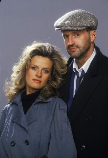 Daniel Auteuil et Anne Jousset