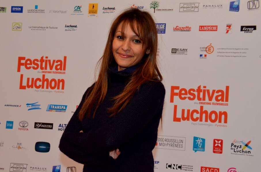 L'actrice Samia Sassi, pour le téléfilm Ne m'abandonne pas de Xavier Durringer