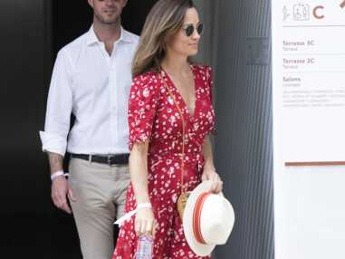PHOTOS - Pippa Middleton et son mari à Roland-Garros