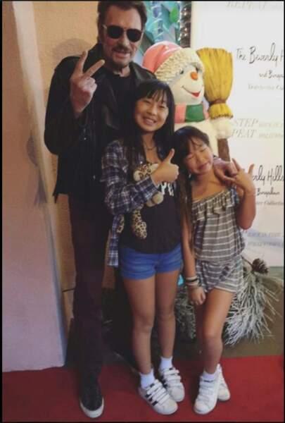 Avec Jade et Joy, Los Angeles. 2016