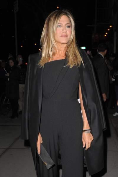 Jennifer Aniston sort de sa voiture à New York