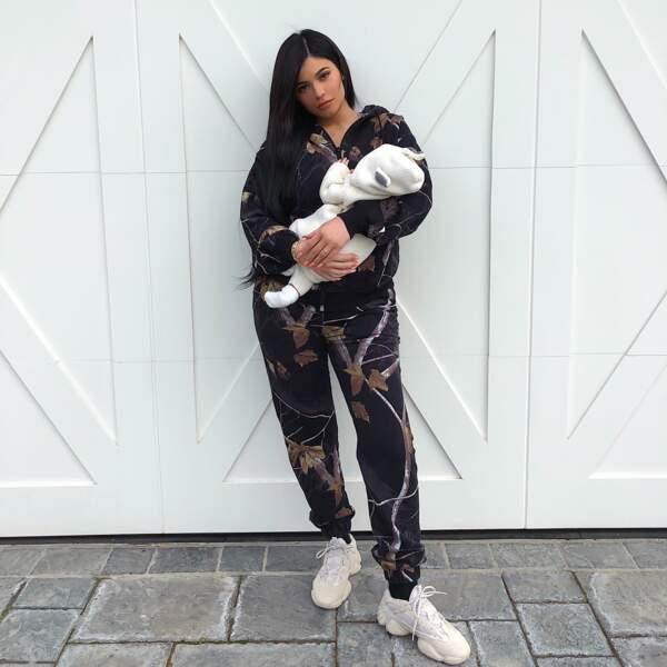 Kylie Jenner et Stormi, née le 1er février 2018