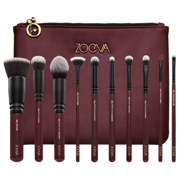 Kit de pinceaux maquillage Opulence Collection, Zoeva, 90€