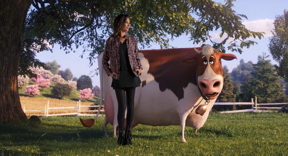 """En 2019, Karine Le Marchand prête sa voix à un personnage du film d'animation """"Comme des Bêtes 2"""""""