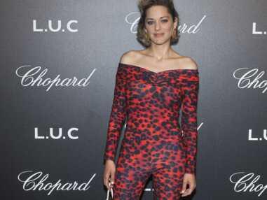 PHOTOS - Cannes 2018 : Marion Cotillard ultra sexy en combinaison léopard