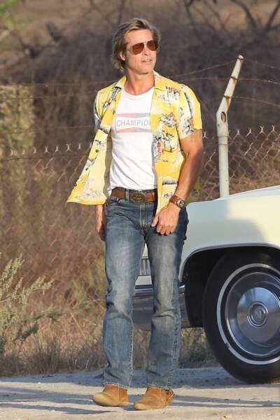 Brad Pitt dans Once Upon a Time in Hollywood