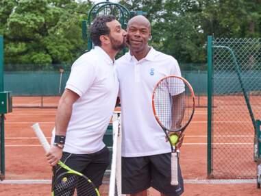 Cyril Hanouna et Cyrille Eldin au trophée des personnalités de Roland Garros