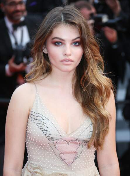 Le brushing cascade comme Thylane Blondeau
