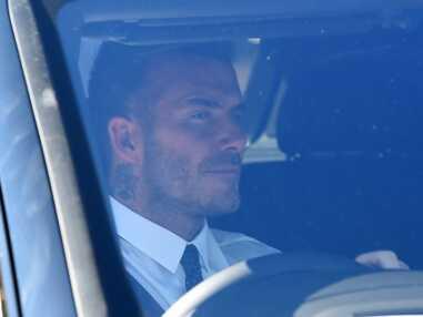 PHOTOS - La reine Elizabeth II sous le charme de David Beckham